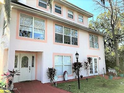 Holly Hill Single Family Home For Sale: 1310 Daytona Avenue