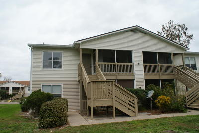 South Daytona Condo/Townhouse For Sale: 1600 Big Tree Road #J7