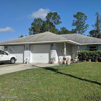 Palm Coast Multi Family Home For Sale: 12 Wheaton Lane