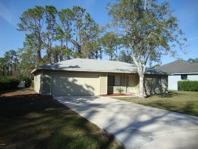 Palm Coast Single Family Home For Sale: 69 Westminster Drive