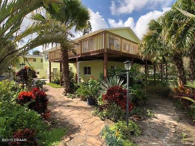 New Smyrna Beach Single Family Home For Sale: 1427 Beacon Street