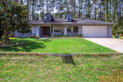 Palm Coast Single Family Home For Sale: 52 Pin Oak Drive