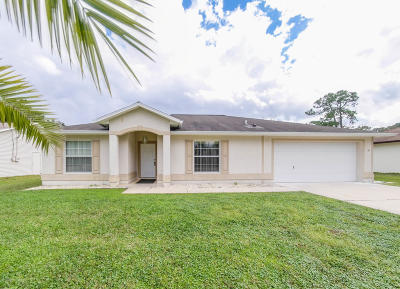 Palm Coast Single Family Home For Sale: 39 Forest Hill Drive