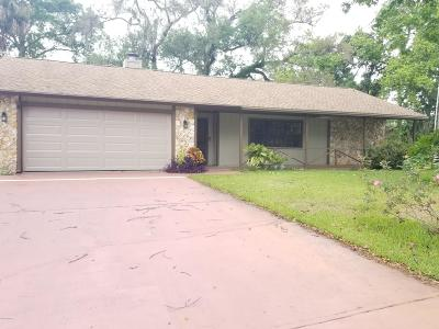 Port Orange Single Family Home For Sale: 958 Sandle Wood Drive