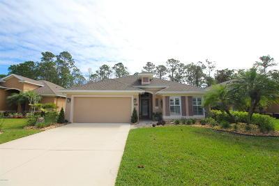 Plantation Bay Single Family Home For Sale: 1233 Crown Pointe Lane