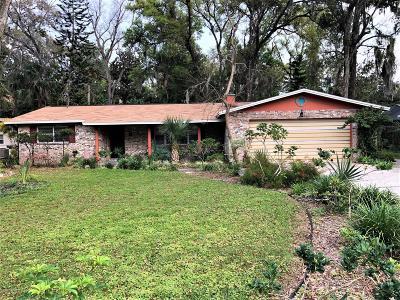 Tomoka Oaks Single Family Home For Sale: 33 N St Andrews Drive