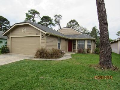 Port Orange Single Family Home For Sale: 965 Belleflower Drive #`