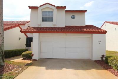Daytona Beach Shores Attached For Sale: 174 Florida Shores Boulevard