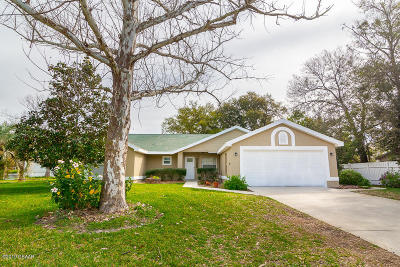 Port Orange Single Family Home For Sale: 5922 Kendrew Drive