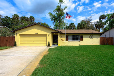 Ormond Beach Single Family Home For Sale: 108 Camino Circle