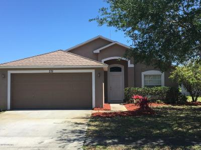 Daytona Beach Single Family Home For Sale: 278 Dahoon Holly Drive