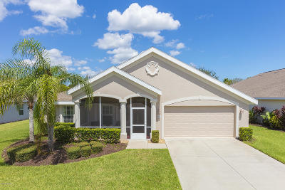 Pelican Bay, Ashton Lakes, Cypress Head, Sabal Creek, Sanctuary On Spruce Creek, Spruce Creek Fly In, Villages Of Royal Palm, Waters Edge Single Family Home For Sale: 1473 Areca Palm Drive