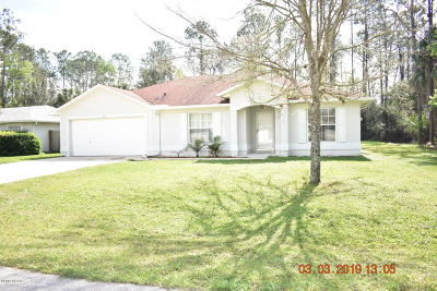 Palm Coast Single Family Home For Sale: 40 Smith Trail
