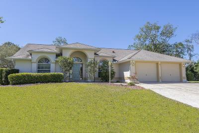 Palm Coast Single Family Home For Sale: 4 Woodfair Place