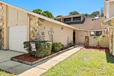 Daytona Beach Attached For Sale: 176 Surf Scooter Drive