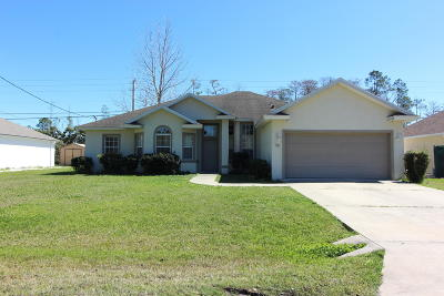 Palm Coast Single Family Home For Sale: 10 E Diamond Drive