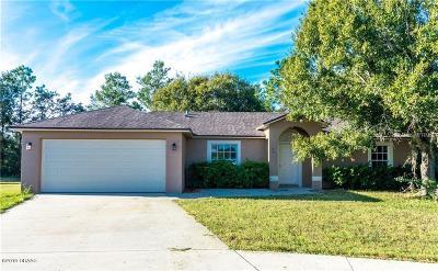 Daytona Beach Single Family Home For Sale: 32 Starling Drive