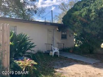 Daytona Beach Single Family Home For Sale: 1219 Linda Lane