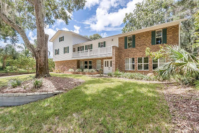 Tomoka Oaks Single Family Home For Sale: 300 River Bluff Drive