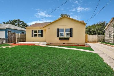 Daytona Beach Single Family Home For Sale: 378 Golf Boulevard