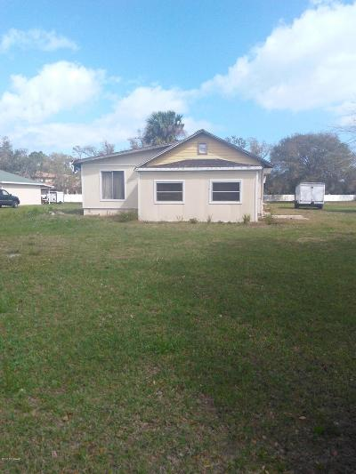 New Smyrna Beach Single Family Home For Sale: 2835 Pioneer Trail