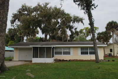 Edgewater Single Family Home For Sale: 2028 Needle Palm Drive