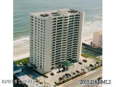 Daytona Beach Condo/Townhouse For Sale: 3425 S Atlantic Avenue #1601