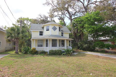 Holly Hill Single Family Home For Sale: 1518 Riverside Drive