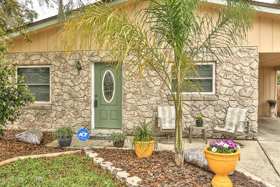 New Smyrna Beach Single Family Home For Sale: 2624 Belmont Avenue