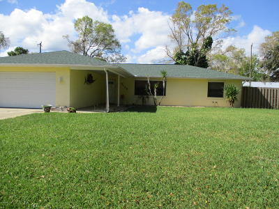 Edgewater Single Family Home For Sale: 3130 Orange Tree Drive