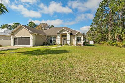 Palm Coast Single Family Home For Sale: 50 Sedgwick Trail