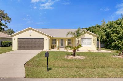 Palm Coast Single Family Home For Sale: 6 Washton Place