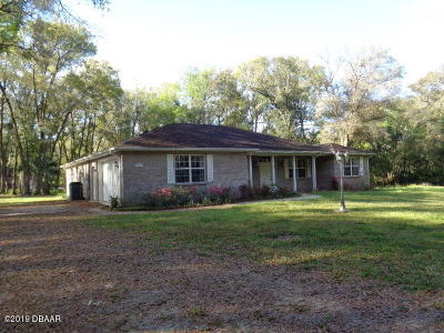 Deland Single Family Home For Sale: 660 Hazen Road