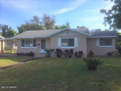 Daytona Beach Single Family Home For Sale: 627 Tarragona Way