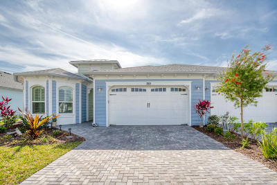 Daytona Beach Attached For Sale: 385 Coral Reef Way