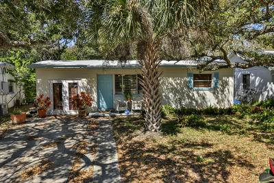 New Smyrna Beach Single Family Home For Sale: 816 E 12th Avenue