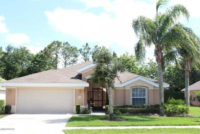 Port Orange Single Family Home For Sale: 1367 Coconut Palm Circle