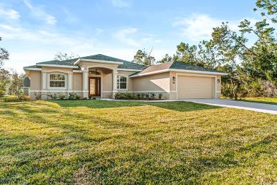Palm Coast Single Family Home For Sale: 18 Fallwood Lane