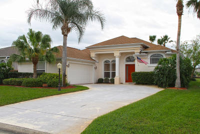 Pelican Bay, Ashton Lakes, Cypress Head, Sabal Creek, Sanctuary On Spruce Creek, Spruce Creek Fly In, Villages Of Royal Palm, Waters Edge Single Family Home For Sale: 3114 Waterway Place