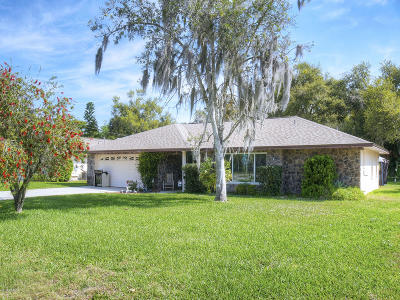 New Smyrna Beach Single Family Home For Sale: 709 Green Road