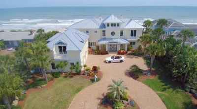 Flagler County, Volusia County Single Family Home For Sale: 125 Ocean Shore Boulevard