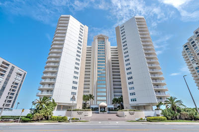 Daytona Beach Shores Condo/Townhouse For Sale: 2937 S Atlantic Avenue #1002
