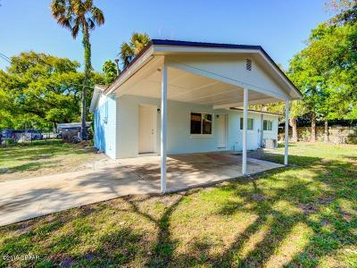 Daytona Beach Single Family Home For Sale: 433 Walnut Street