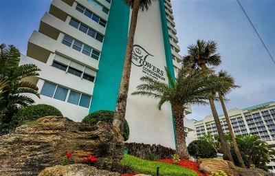 Daytona Beach Condo/Townhouse For Sale: 2800 N Atlantic Avenue #1008