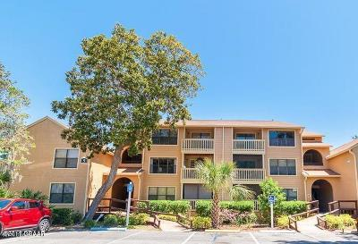 Daytona Beach Condo/Townhouse For Sale: 1401 S Palmetto Avenue #509