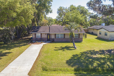 Deland  Single Family Home For Sale: 1507 Hontoon Road
