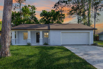 Port Orange Single Family Home For Sale: 1396 E Harnden Road