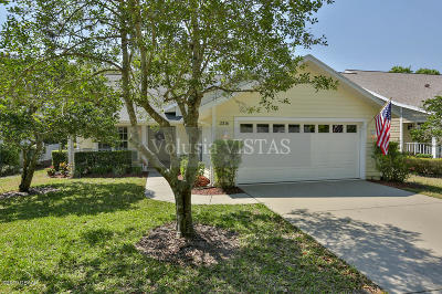 Volusia County Single Family Home For Sale: 3316 Newbliss Circle