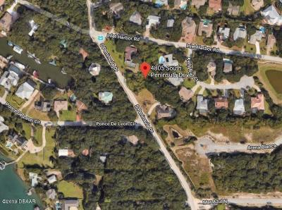 Ponce Inlet Residential Lots & Land For Sale: 4805 S Peninsula Drive