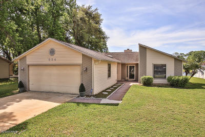 Port Orange Single Family Home For Sale: 624 Crown Lane
